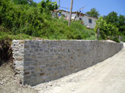 New Wall in Iliochori